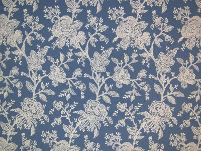 Moonlight Flower Jacquard Blue Tex Ex 1783