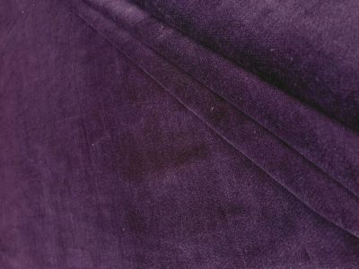 Stretch Velvet Plum Tex Ex 1806