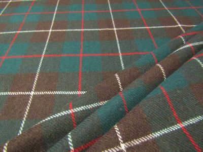 Camden Tartan Green, Brown, Red Tex Ex 1853