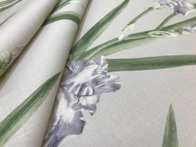 Irises Dove Grey Tex Ex 1926
