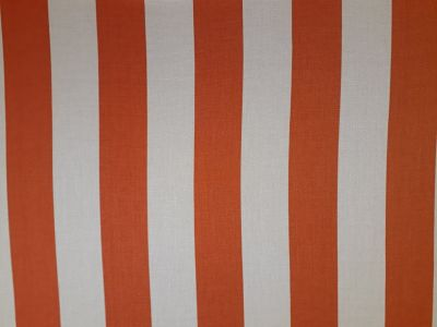 Tuscany Stripe Terracotta Cream Tex Ex 2066