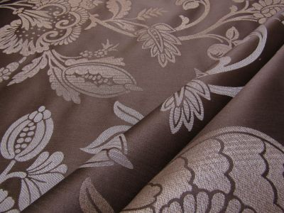 Damask Brocade Taupe Tex Ex 2101