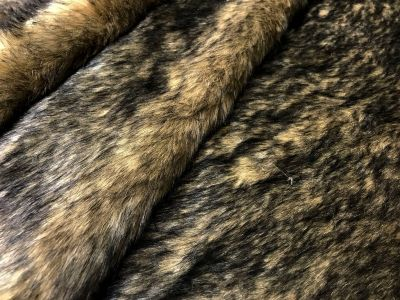 Luxury Bear Fur Brown Tex Ex 2139