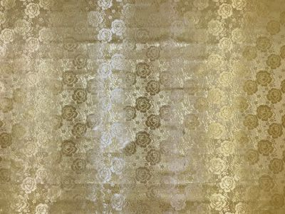 Golden Flowers Jacquard Gold Tex Ex 2142