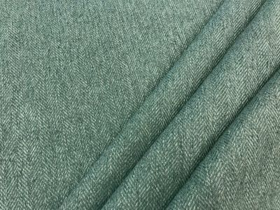 Toscana Brushed Herringbone Teal Tex Ex 2150