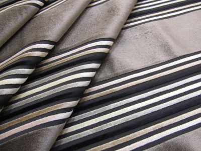 Embossed Stripe Velvet Mink Tex Ex 2162
