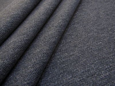 Toscana Brushed Herringbone Denim Blue Tex Ex 2165
