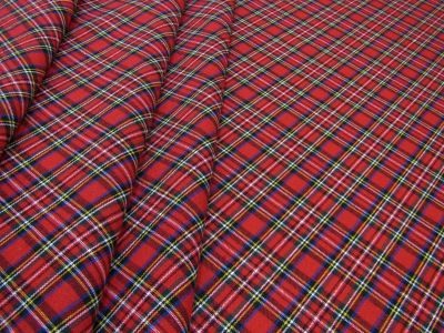 Small Christmas Tartan Red Tex Ex 2181