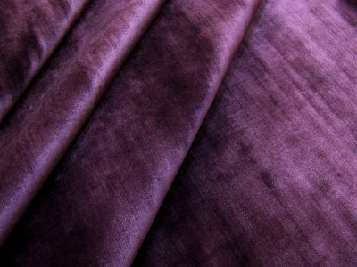 Ocean Cotton Velvet Grape Tex Ex 2192