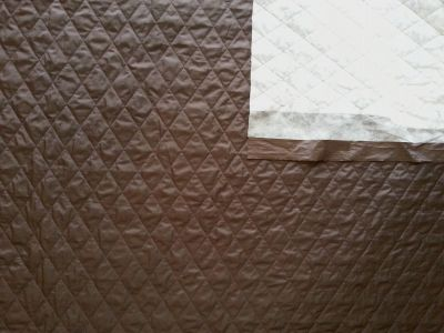 Showerproof Quilting Brown Tex Ex 684