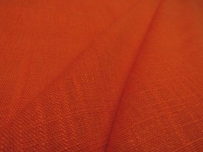 Lightweight Linen Mix Orange Tex Ex 2128