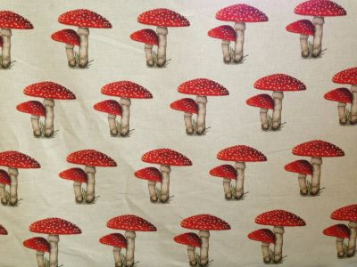 Tex Ex Original Toadstool Collector Linen