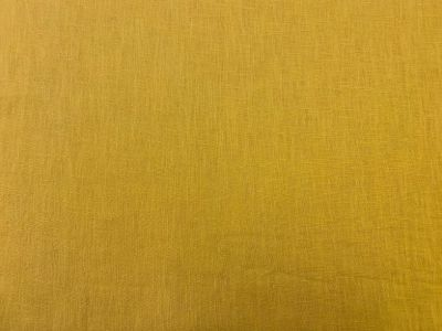 Washed Linen Mustard C514