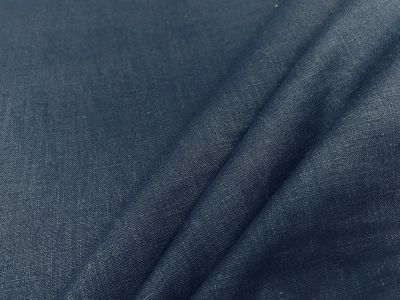 Washed Linen Navy C511