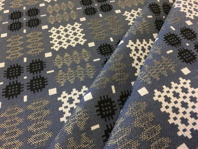 Welsh Blanket Tapestry Blue R44