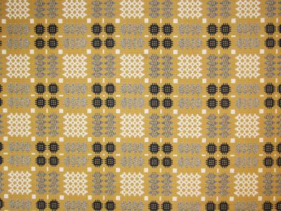 Tex Ex Originals Welsh Blanket Weave Mustard