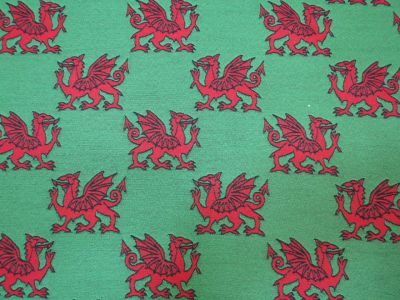 Welsh Dragon Red Green R14