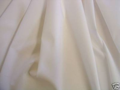 Extra Wide Sheeting Fabric White