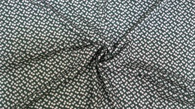 Feather Petal Viscose Dark Green U162