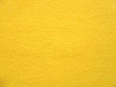 Yellow Polar Fleece Fabric