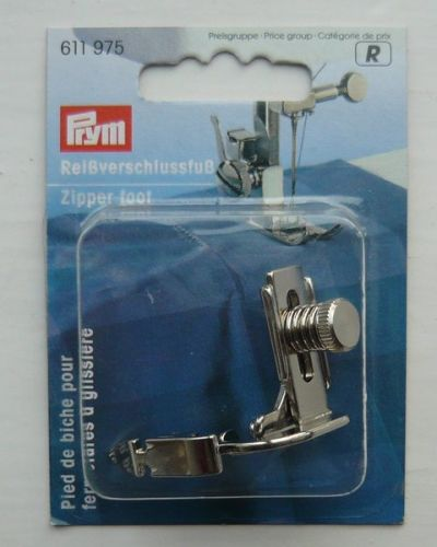 Prym Sewing Machine Zipper Foot Clip Pressure