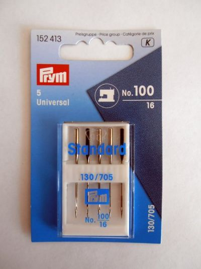 Prym Sewing Machine Needles 100/16