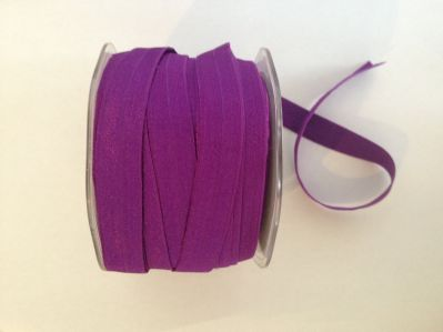 Purple Elastic 15mm | Textile Express | Buy Fabric Online
