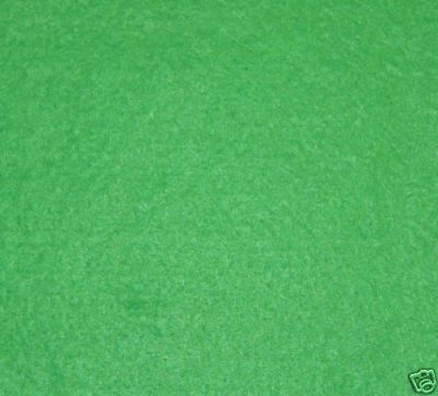 Apple Green Wool Mix Felt Fabric ES007