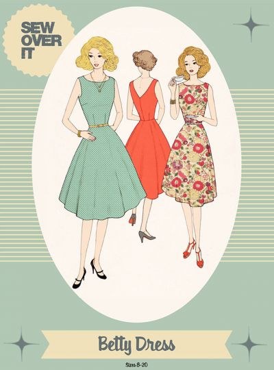Sew Over It Betty Dress Sewing Pattern