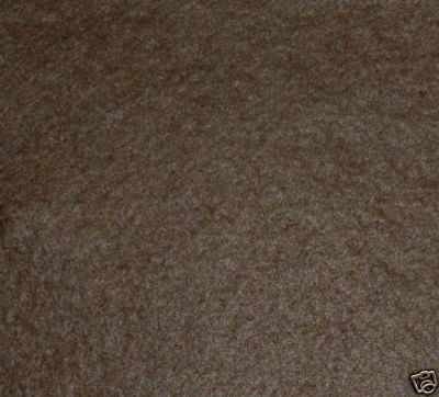 Brown Wool Mix Felt Fabric ES007