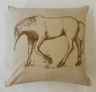 Textile Express Filly Dream Horse Cushion