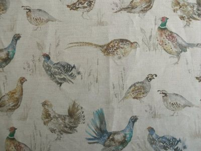 Voyage Game Birds Mini Linen