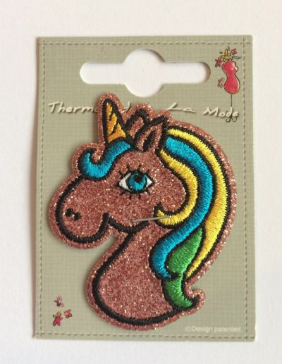 Glitter Unicorn Patch