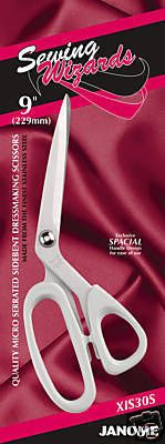 Janome Ivory Sewing Wizards Scissors