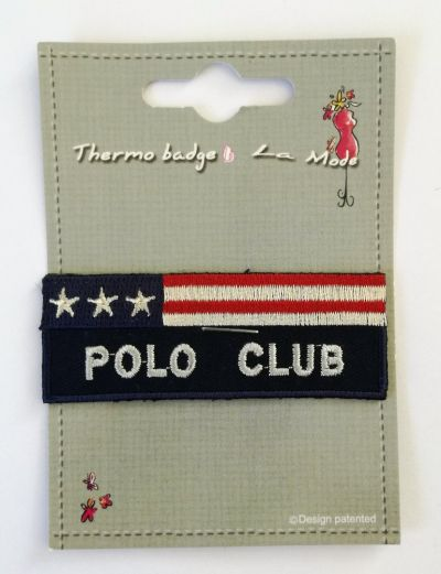 Polo Club Patch