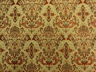 ST Red Damask Tapestry D14