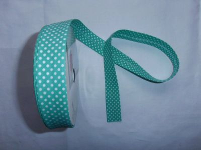Jade Spotty Bias Binding