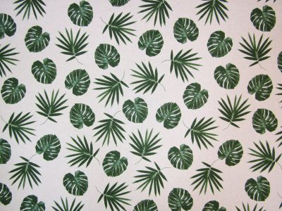 Tropical Leaves Linen T176