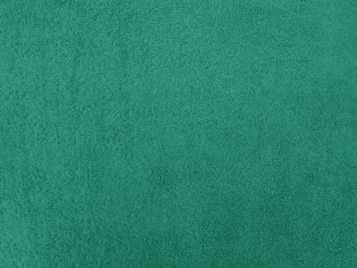 Luxury Cotton Terry Towelling Turquoise