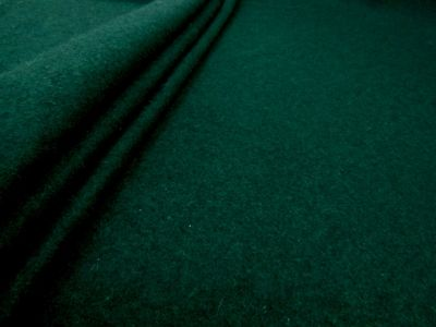 "Wool ""Serge Style"" Felt Bottle Green T170"