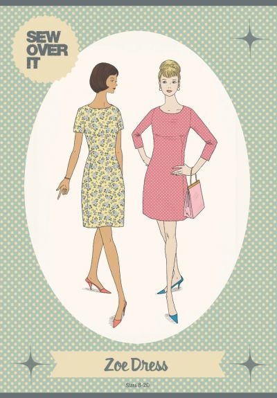 Sew Over It Zoe Dress Sewing Pattern